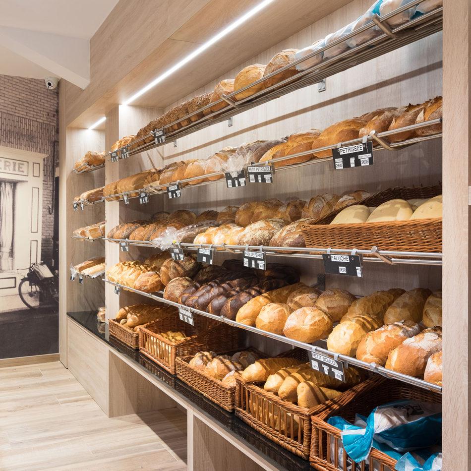 Totaalinrichting Boulangerie Vienne bakkerszaak