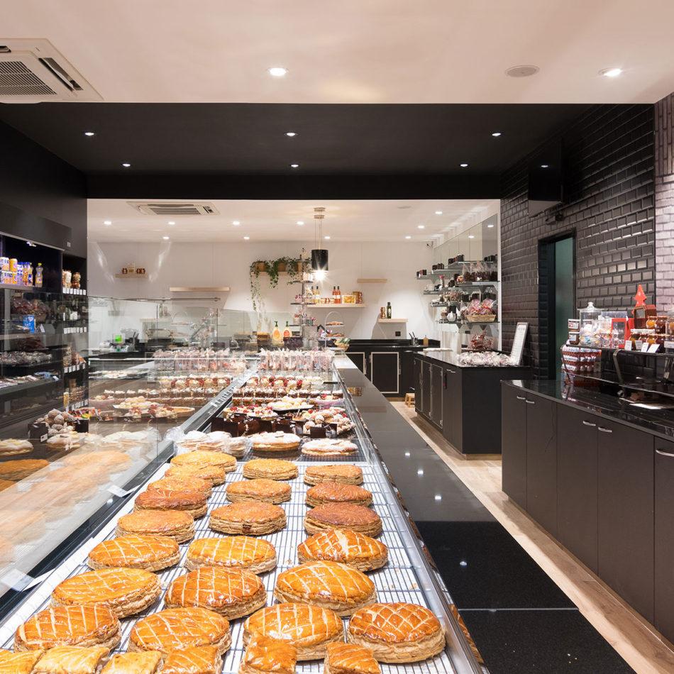 Boulangerie Vienne bakkerij toonbank inrichting integral