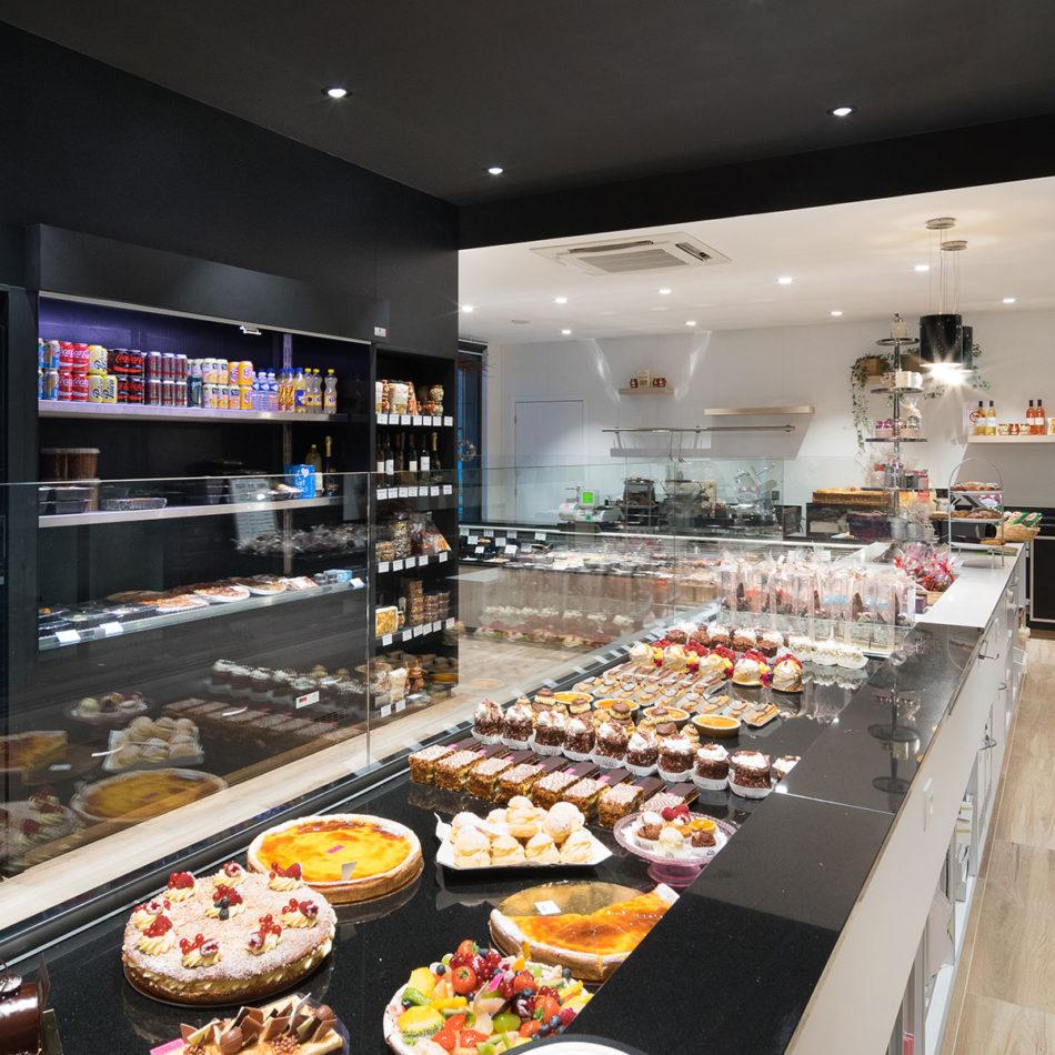 Boulangerie Vienne bakker modern interieur