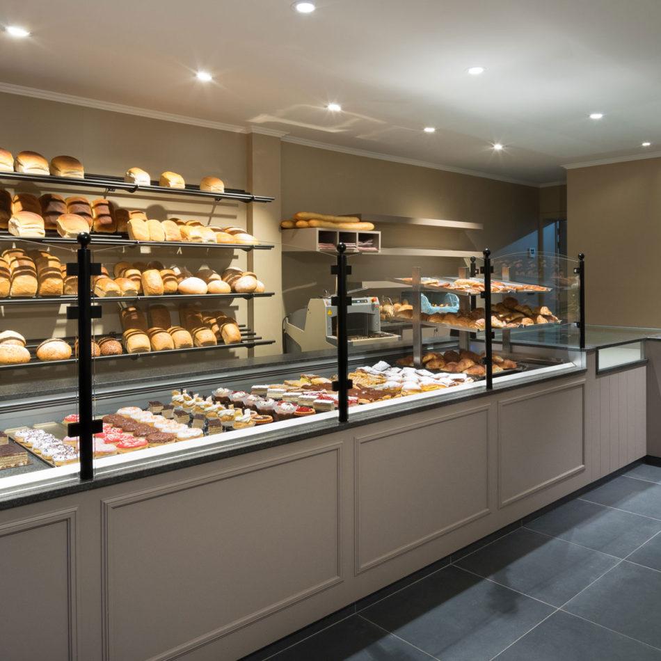 Oli's Bakery bakker intereur
