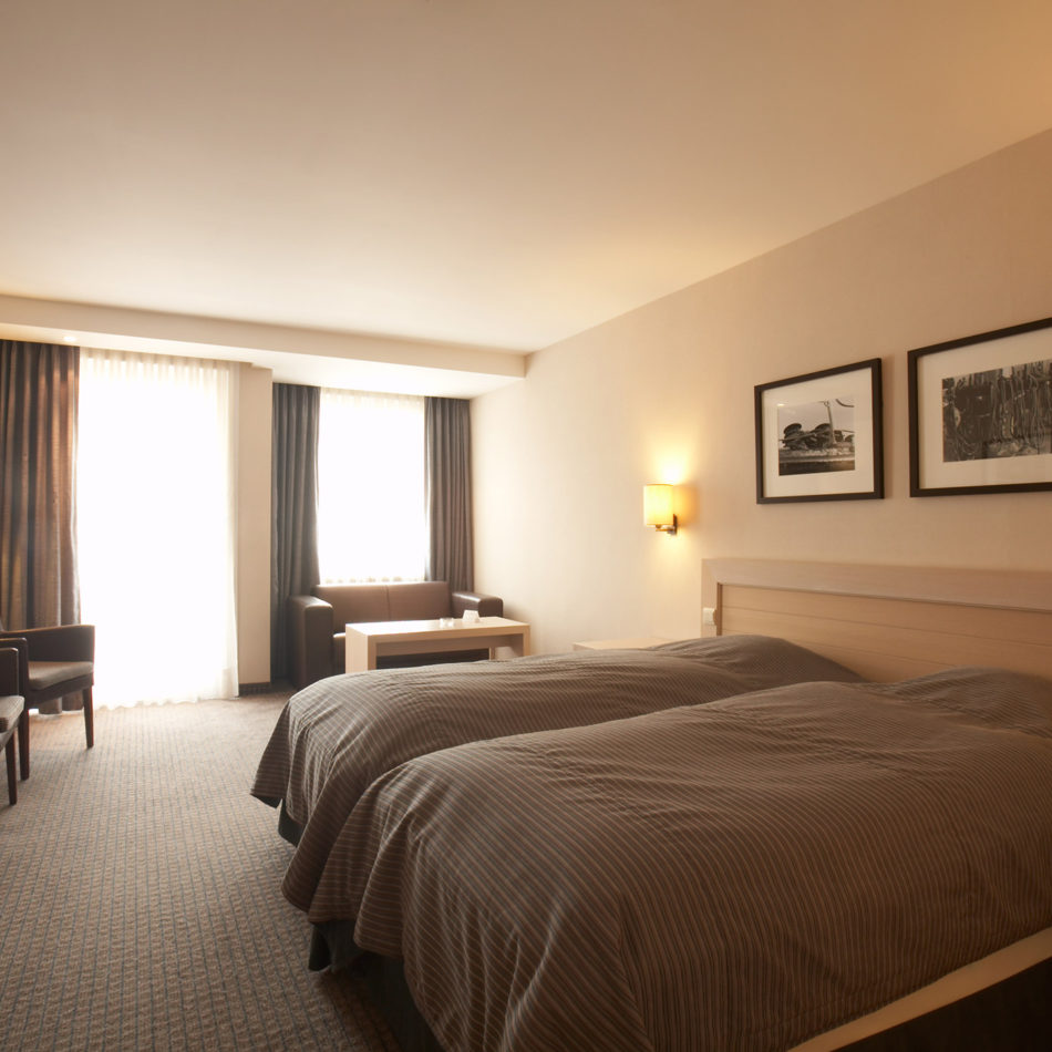 Hotelkamer totaalinrichting Azaert