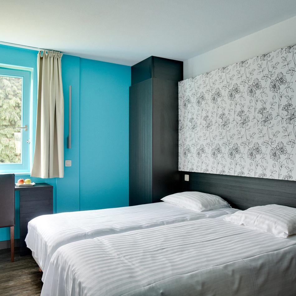 hotelkamer Brugotel interieur