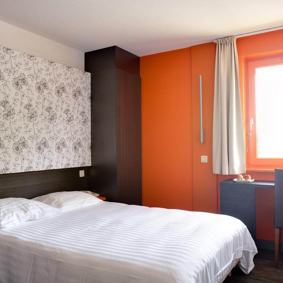 Brugotel hotelkamer interieur