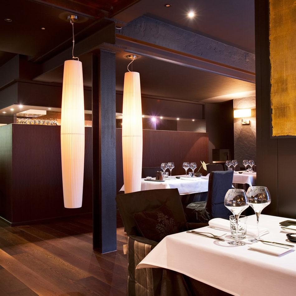 Inrichting restaurant Homard et la moule in Bredene