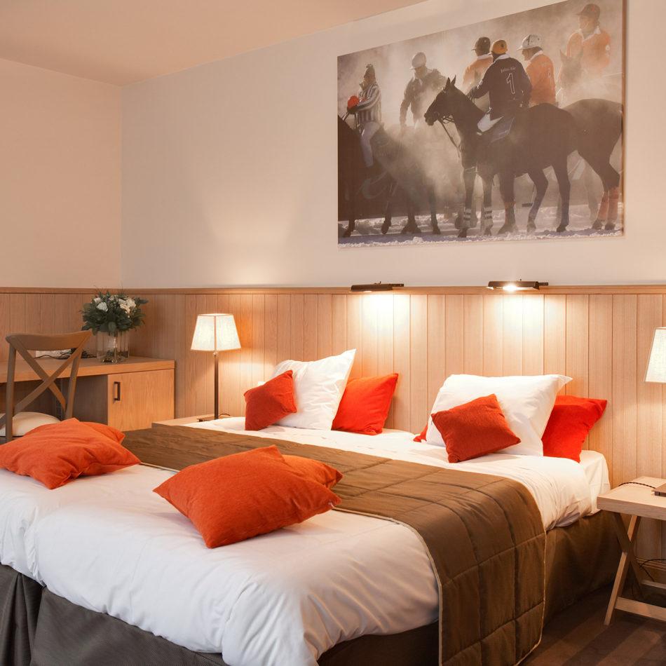 Pavillon du zoete Hotelkamer integral
