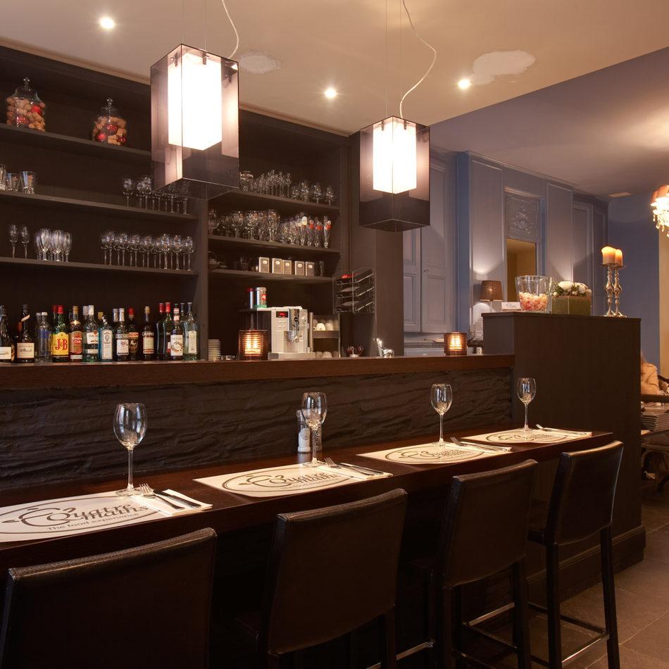 Inrichting van brasserie Quatre Mains door Integral Interiors
