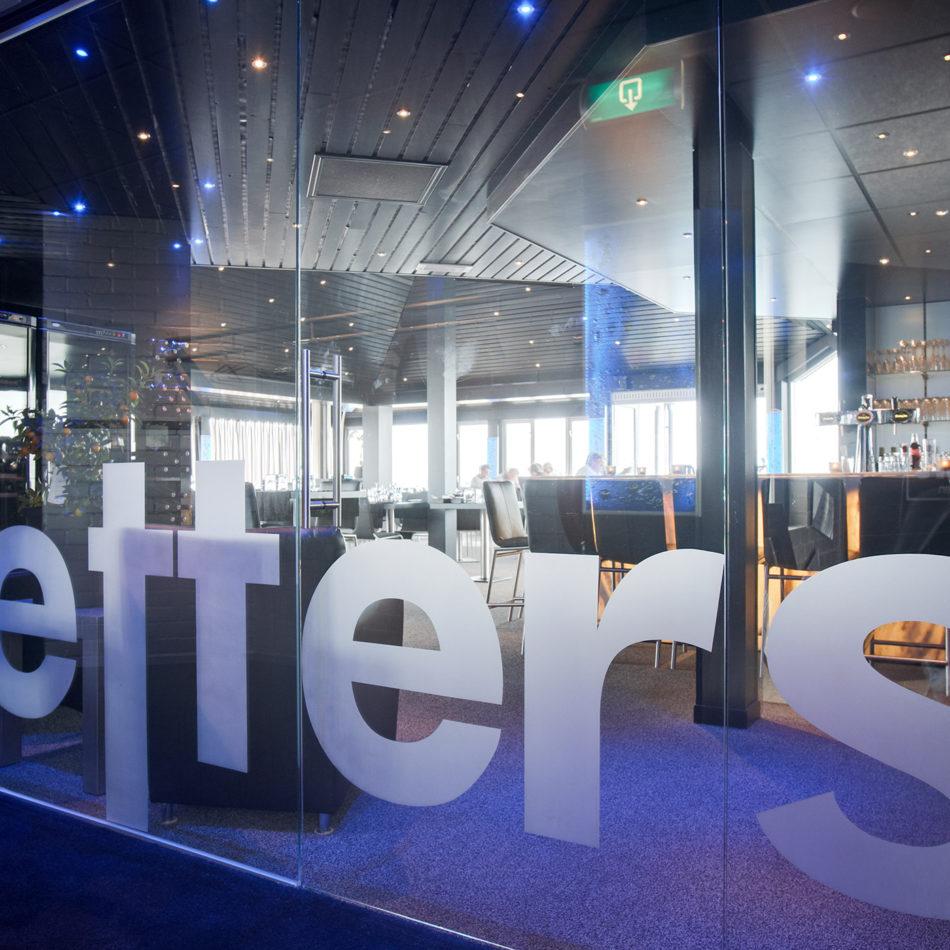 restaurant Spetters in Breskens, inrichting door Integral