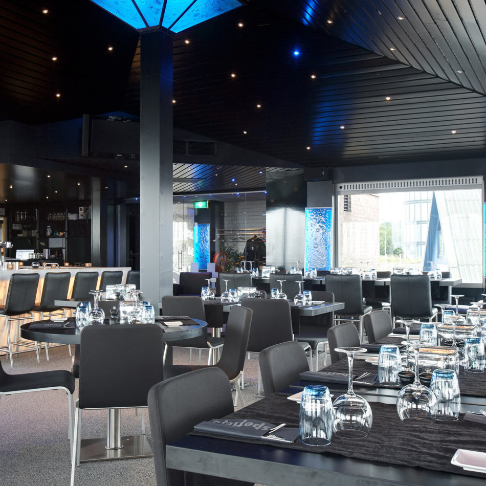 restaurant Spetters in Breskens, interieur en inrichting door Integral