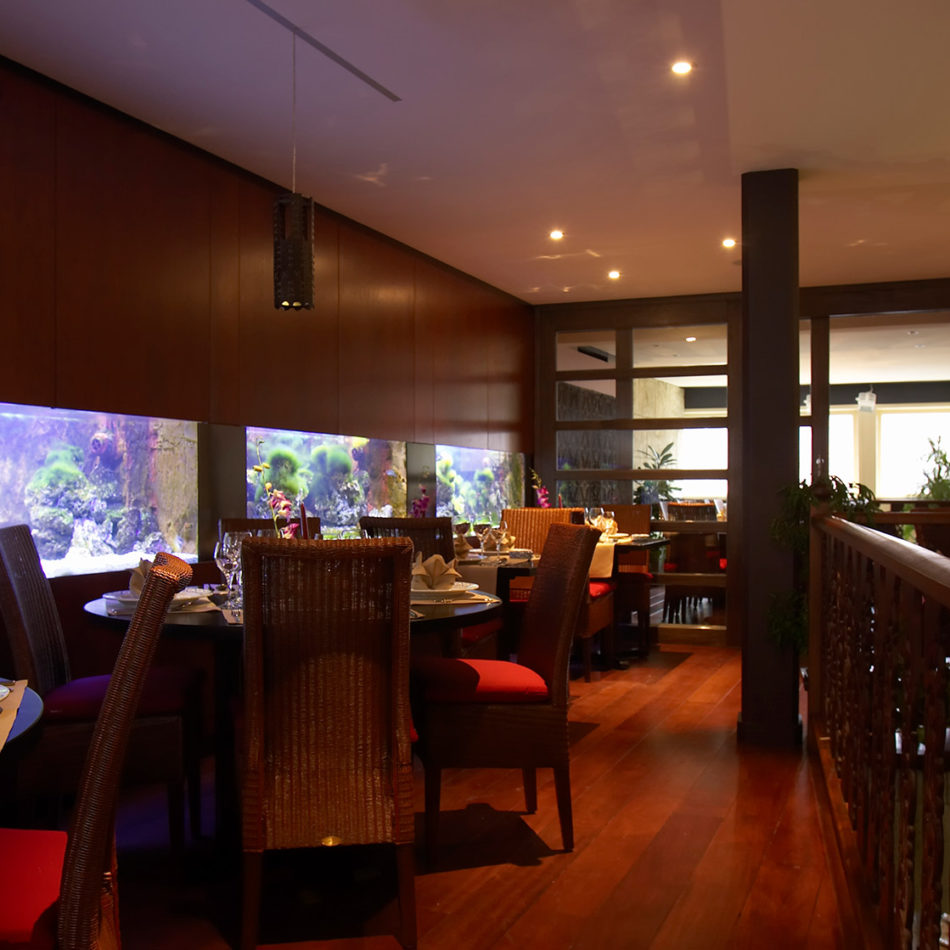 Naraï Thai publieke ruimte mooi meubilair door integral interiors