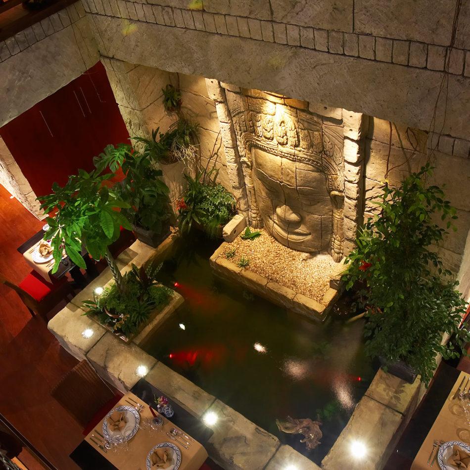 Publieke ruimte Naraï Thai interior vernieuwd door integral