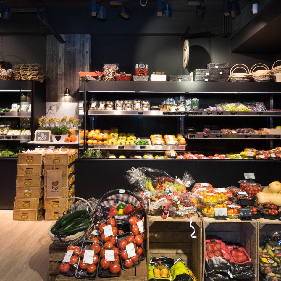 groenten en fruit kruidenier inrichting