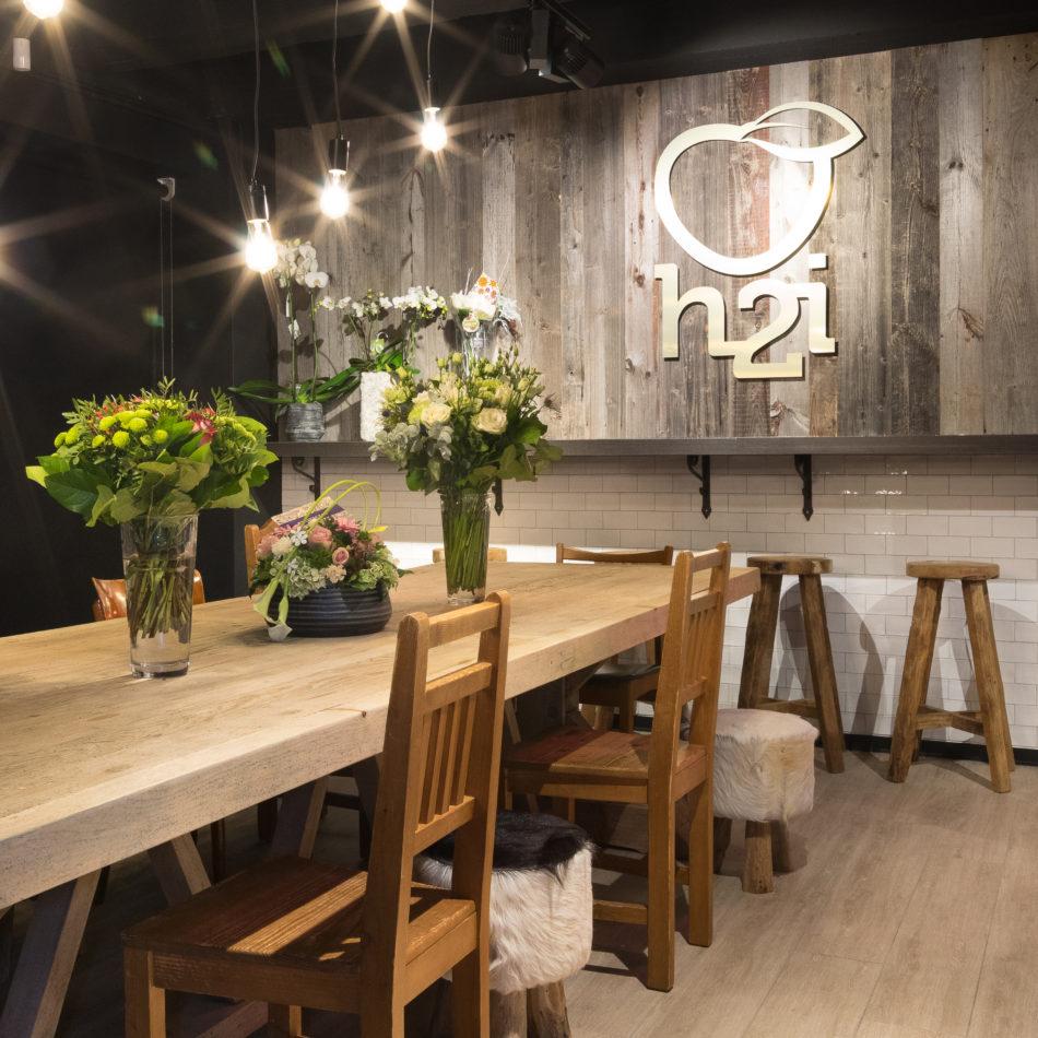 h2i foodmarket aalst interieur winkel
