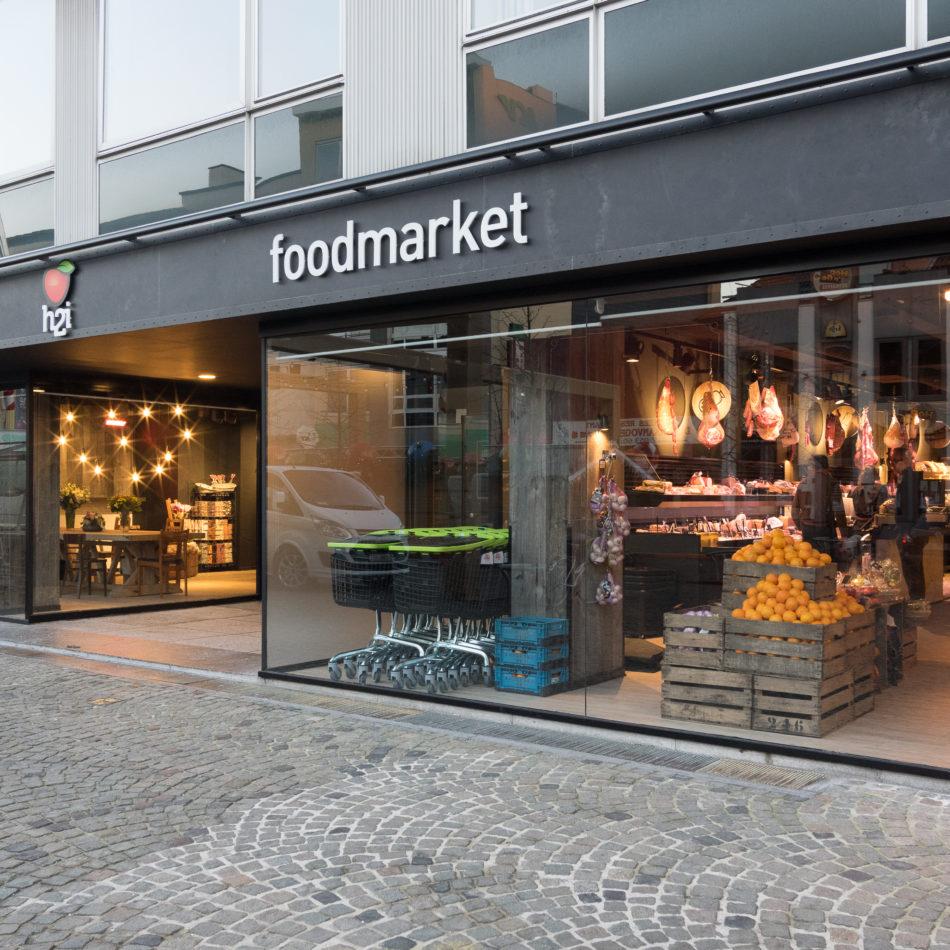 foodmarket integral winkelinrichting hopmarkt aalst