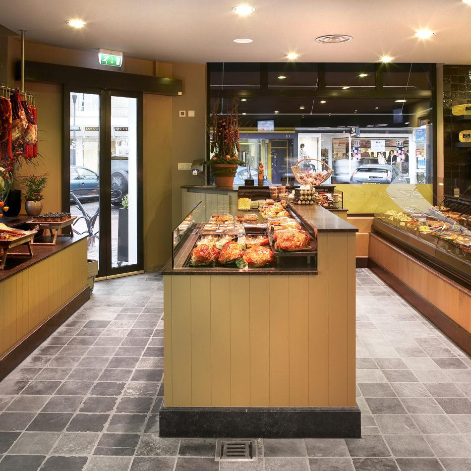 Totaalinrichting slagerij beerens eindhoven integral winkel koeling toonbank