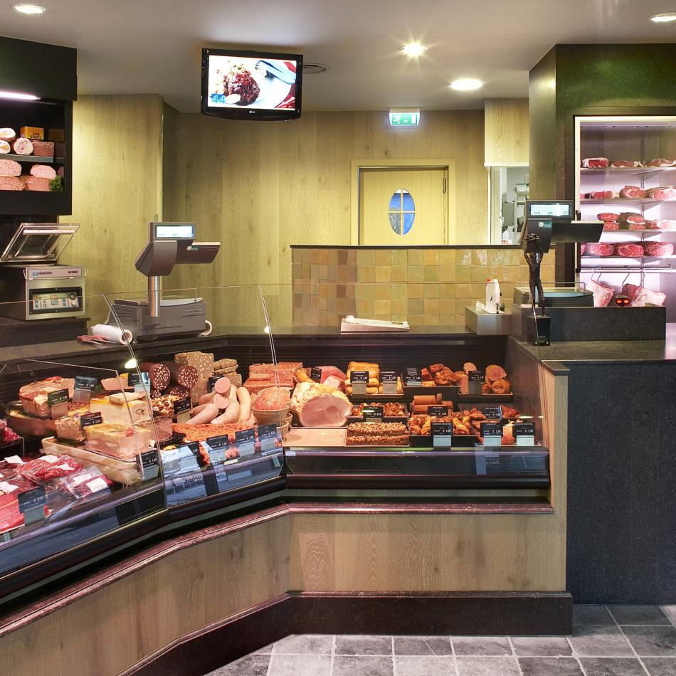 Werkmeubel slagerij integral winkelinrichting eeklo koelmeubel