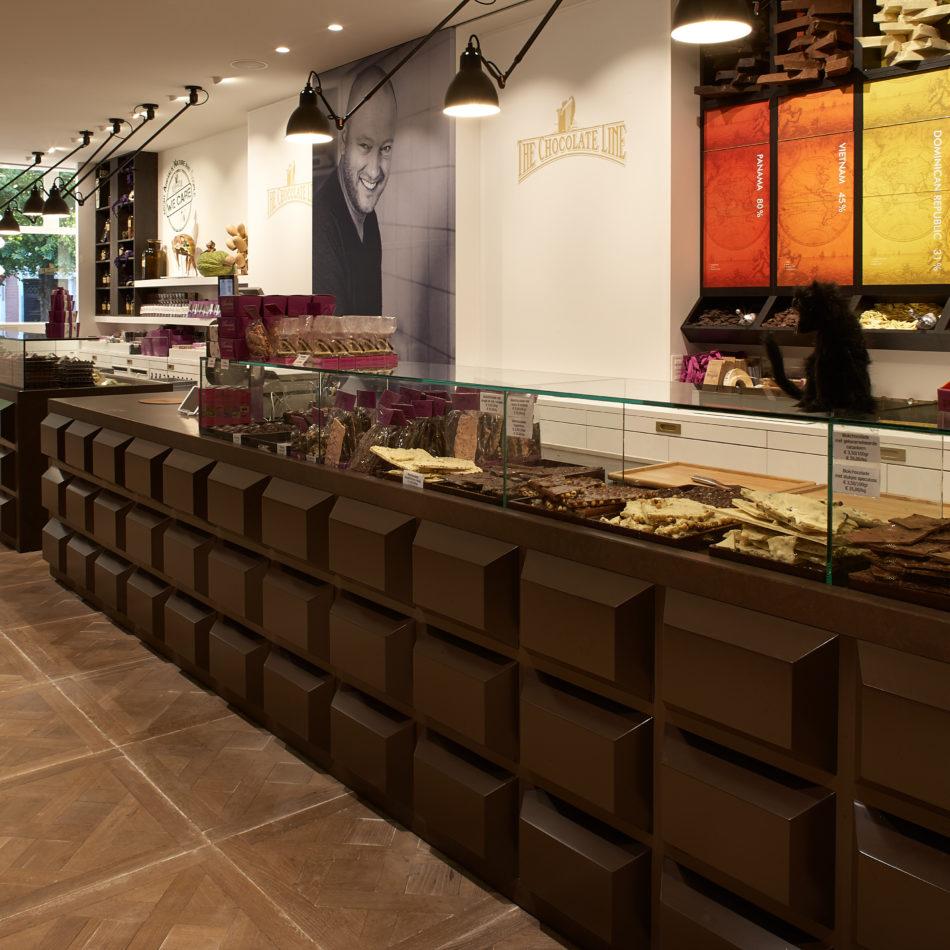 The Chocolate Line Brugge winkelinrichting integral interiors eeklo