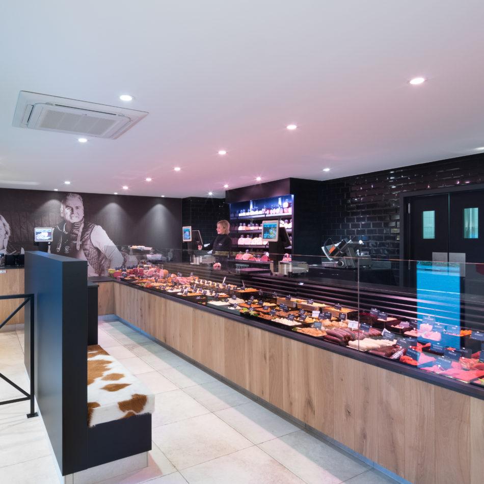 toonbank slagerij winkelinrichting integral