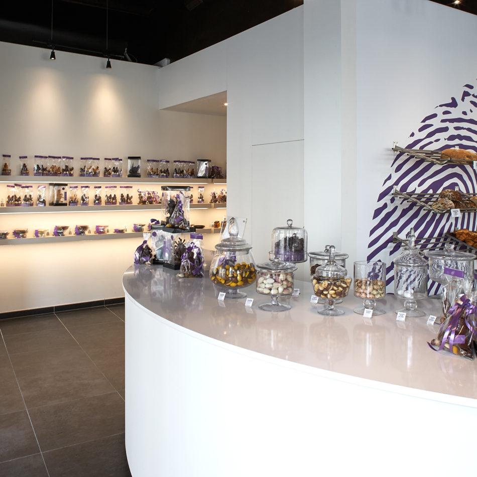 toonbank chocolade gent coertjens winkelinrichting