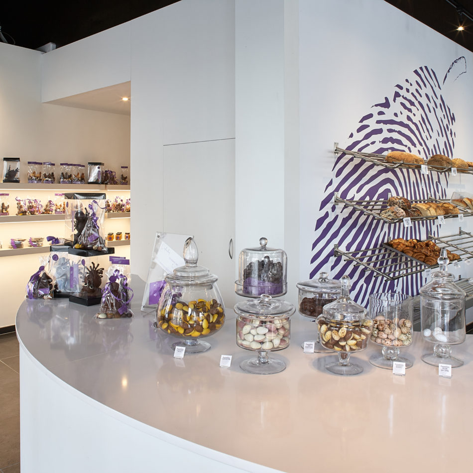 kassameubel bakkerij chocolaterie coertjens Gent Integral interiors