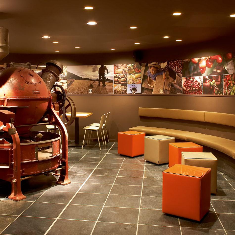 inrichting viva sara bar bistro restaurant koffie molen kortrijk integral