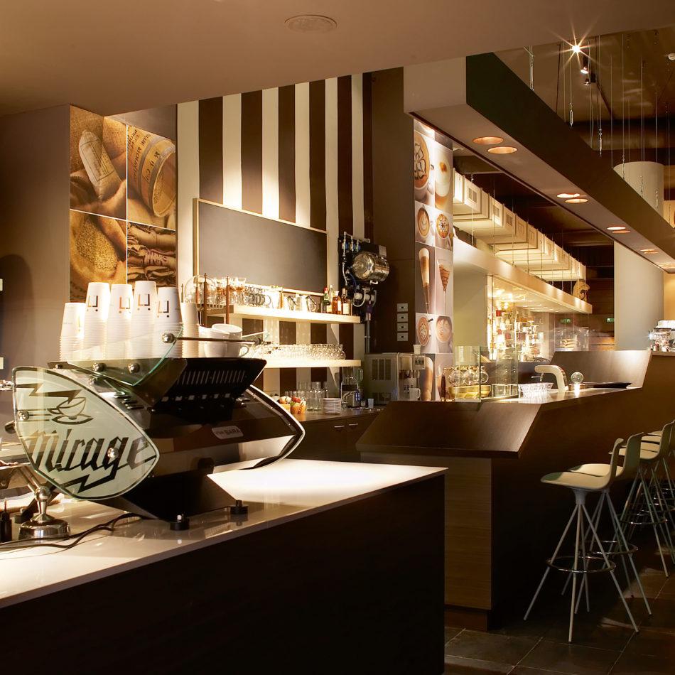 inrichting viva sara bar bistro restaurant koffie thee kortrijk integral